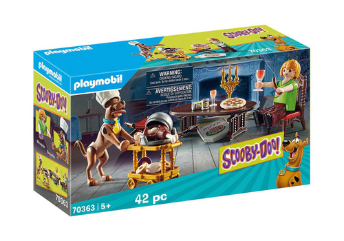 Playmobil Scooby Doo! Dinner With Scooby And Shagg