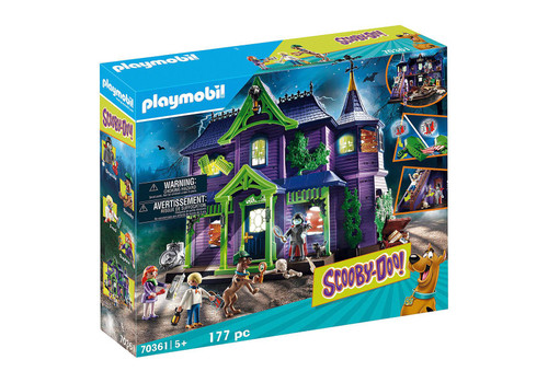 Playmobil Scooby Doo! Mystery Mansion