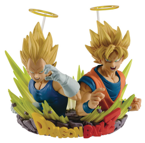 Dbz Com Figuration Vol 2 Gogeta Goku & Vegeta Figure