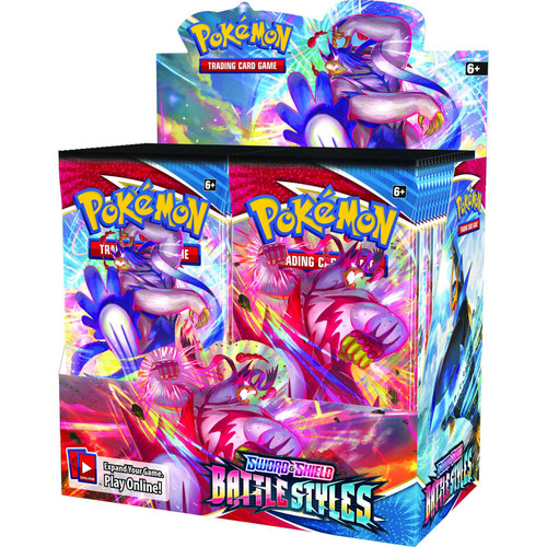 (Sealed box of 36) Pokemon TCG: Sword & Shield 5 - Battle Styles Booster