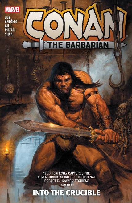 Conan The Barbarian By Jim Zub 1 Into The Crucible