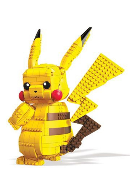 Pokémon Mega Construx Wonder Builders Construction Set Jumbo Pikachu 33 cm