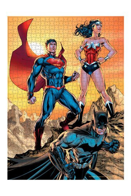 DC Comics Jigsaw Puzzle Justice League