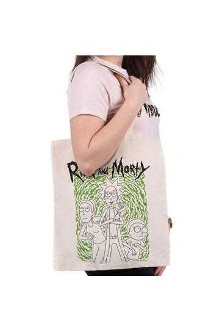 Rick and Morty Tote Bag Portal