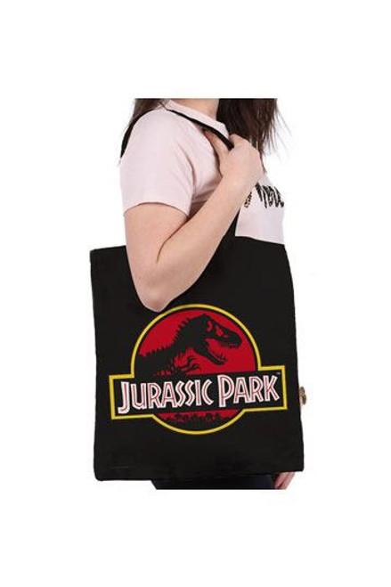 Jurassic Park Tote Bag Logo