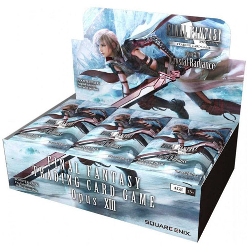 (Sealed Box of 36) Final Fantasy TCG: Opus XIII (Opus 13) Crystal Radiance Boosters