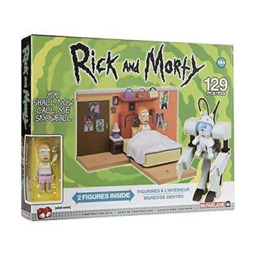 Rick & Morty Snowball Construction Set