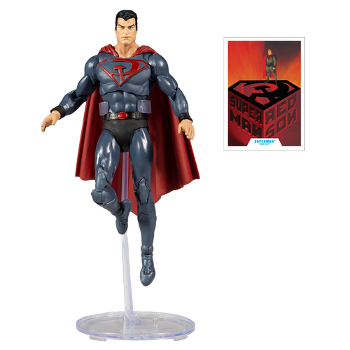 """DC Multiverse: 7"""" Red Son Superman Action Figure"""