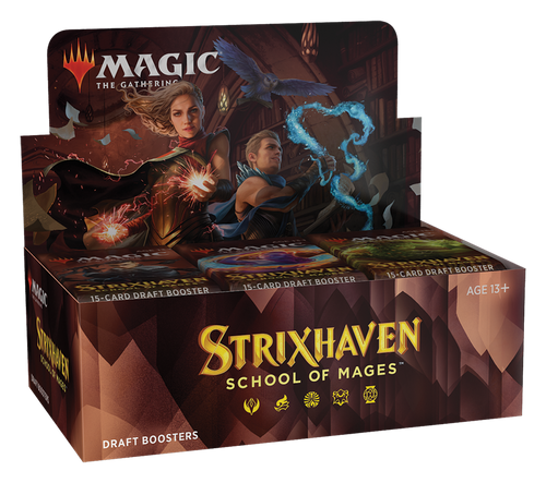 (Sealed box of 36) MTG: Strixhaven School of Mages Draft Boosters