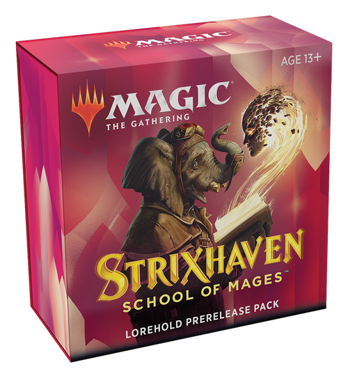 MTG: Strixhaven School of Mages Prerelease Pack - Lorehold - Red/White
