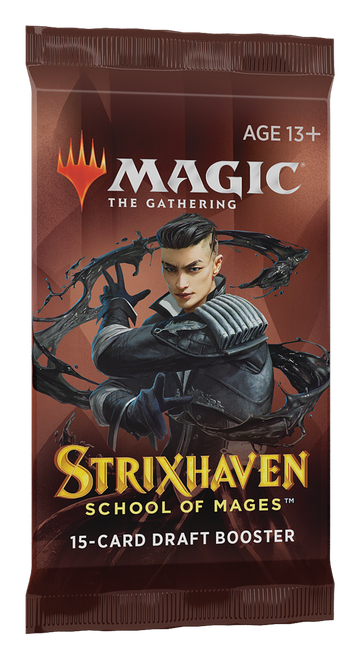 MTG: Strixhaven School of Mages Draft Booster