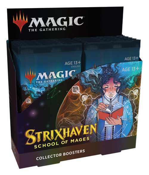 (Sealed Box of 12) MTG: Strixhaven School of Mages Collector Boosters