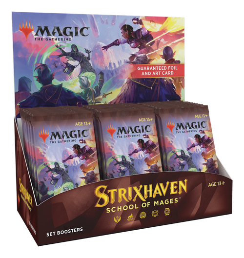(Sealed Box of 30) MTG: Strixhaven School of Mages Set Boosters