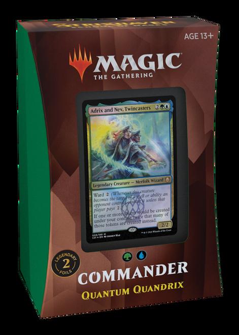 MTG: Strixhaven School of Mages Commander Deck - Quantum Quandrix - Blue/White