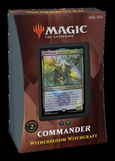 MTG: Strixhaven School of Mages Commander Deck - Witherbloom Witchcraft - Green/Black
