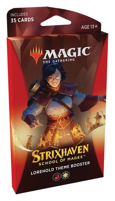 MTG: Strixhaven School of Mages Theme Booster - Lorehold White/Red (PRE-ORDER released 23/04/21)