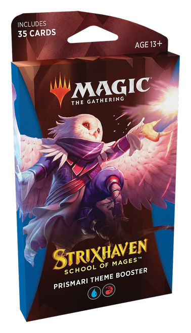 MTG: Strixhaven School of Mages Theme Booster - Prismari Red/Blue (PRE-ORDER released 23/04/21)
