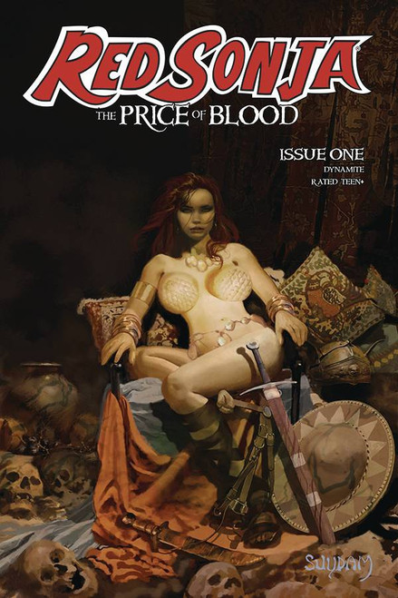 Red Sonja Price Of Blood #1 Cover A Suydam