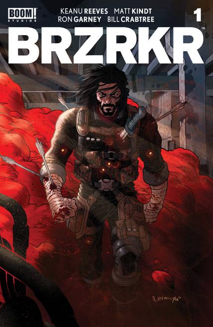 Brzrkr (Berzerker) #1 Cover A Grampa