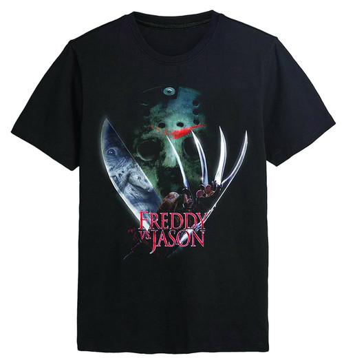 Freddy Vs. Jason Mask Ts - L