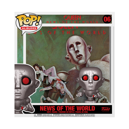 Funko POP! Vinyl: Queen - News of the World #06