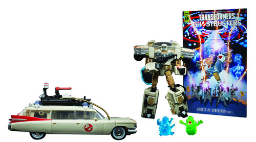 Transformers Ghostbusters Afterlife Ectotron Ecto 1