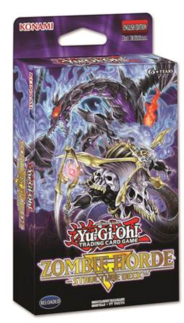 Yu-Gi-Oh! TCG Zombie Horde Stucture Deck