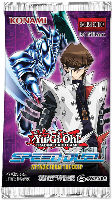 Yu-Gi-Oh! TCG Attack From The Deep - Speed Duel Booster