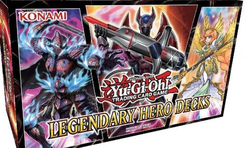 Yu-Gi-Oh! TCG Legendary Hero Decks
