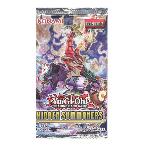 Yu-Gi-Oh! TCG Hidden Summoners Booster