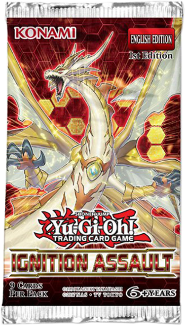 Yu-Gi-Oh! TCG Ignition Assault Booster
