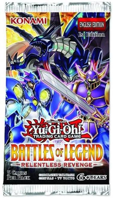 Yu-Gi-Oh! TCG Battles of Legend - Relentless Revenge Booster