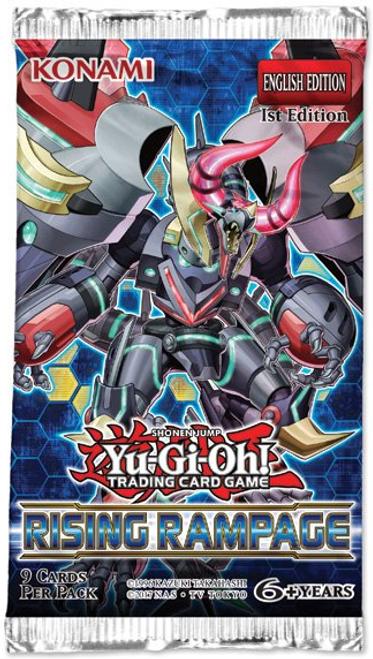Yu-Gi-Oh! TCG Rising Rampage Booster