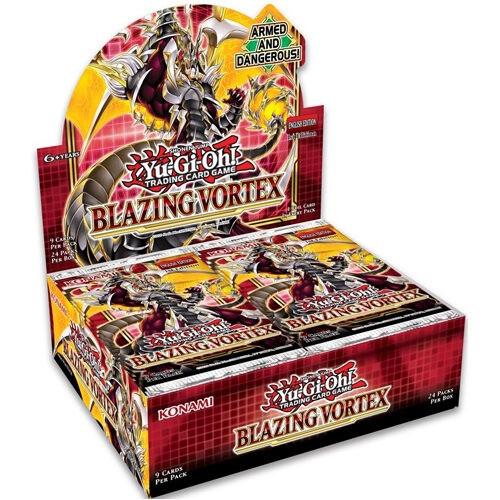 Yu-Gi-Oh TCG: Blazing Vortex Boosters (Sealed Box of 24)