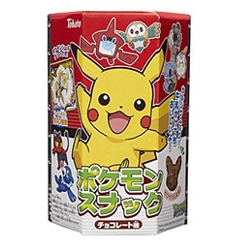 Pokemon Pikachu Shaped Chocolate Snacks with a Sticker, 23g