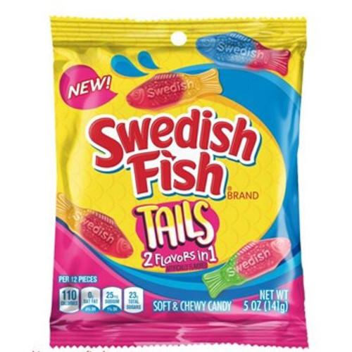 Swedish Fish Big Tails Peg Bag 141g