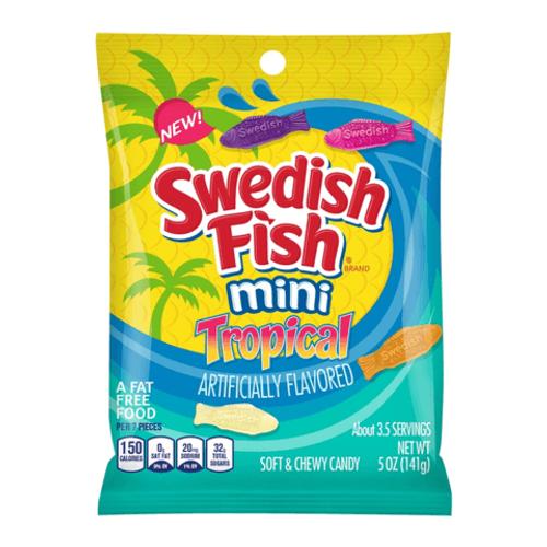 Swedish Fish Tropical Peg Bag 141g