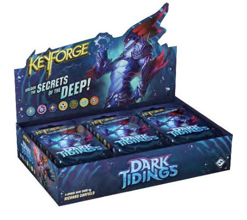 (Sealed Box of 12) KeyForge Dark Tidings Archon Decks