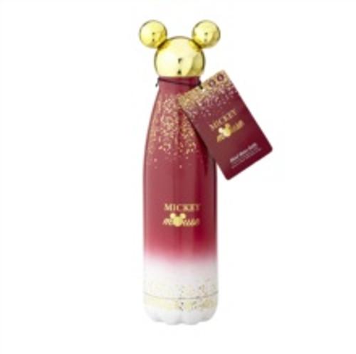 Mickey Berry Glitter Metal Water Bottle
