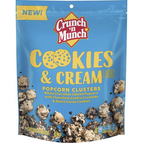 Crunch 'n Munch Cookies & Cream 156g