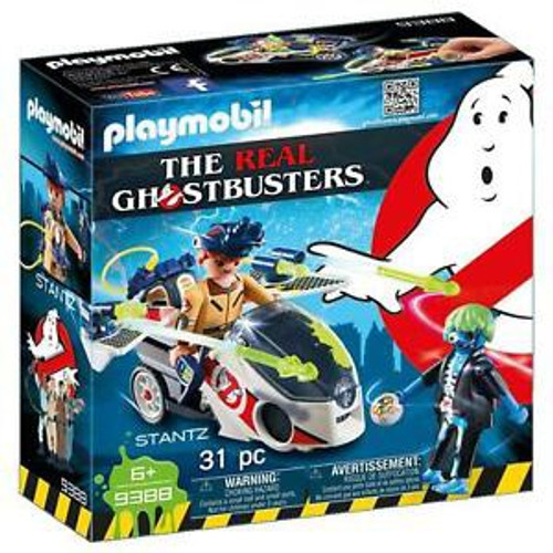 Playmobil Real Ghostbusters Stantz With Skybike