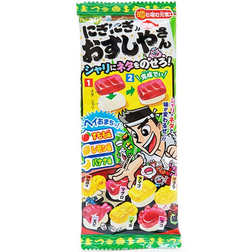 Nigi Nigi Osushi Yasan DIY Gummy Candy (Make Your Own Sushi Shop), 22g