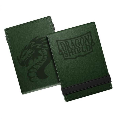 Dragon Shield Life Ledger - Forest Green/Black