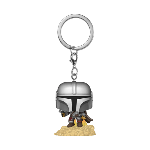POP Keychain: The Mandalorian - The Mandalorian with Jetpack