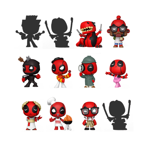 Mystery Minis: Deadpool 30th