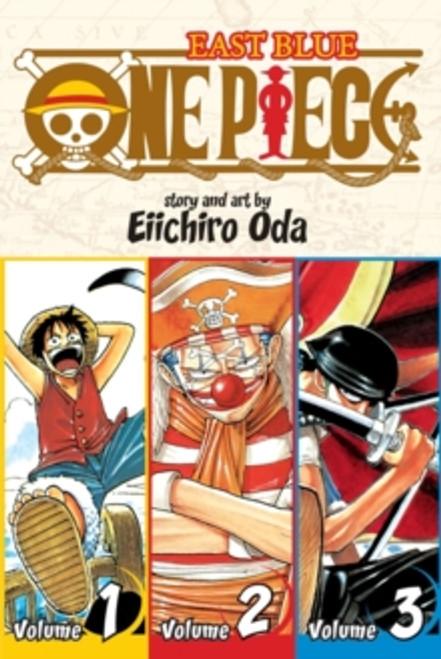 One Piece (Omnibus Edition), Vol. 1 : Includes vols. 1, 2 & 3