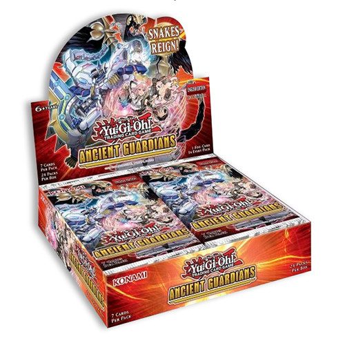 Yu-Gi-Oh! - Ancient Guardians Booster Box PRE-ORDER, RELEASED ON 06/05/21