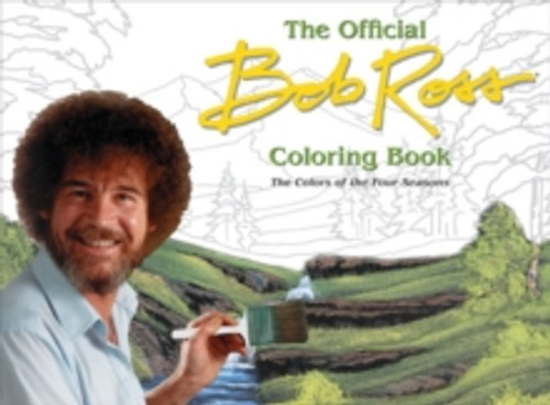 Bob Ross : The Four Seasons Coloring Book