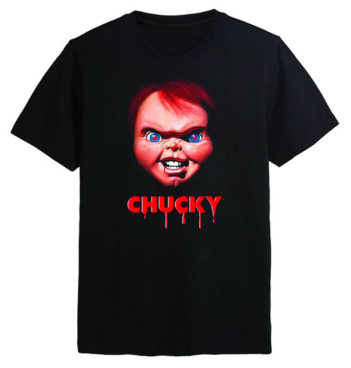 Chucky Face T-Shirt - L