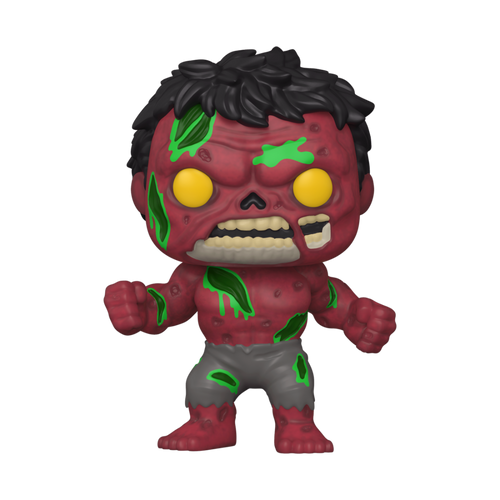 Funko POP! Vinyl: Marvel Zombies - Red Hulk #790
